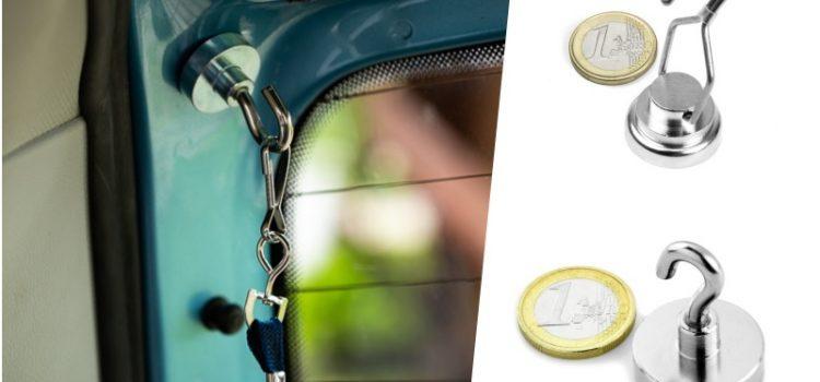 6 tipů, jak využít magnetické háčky na cestách a dovolené